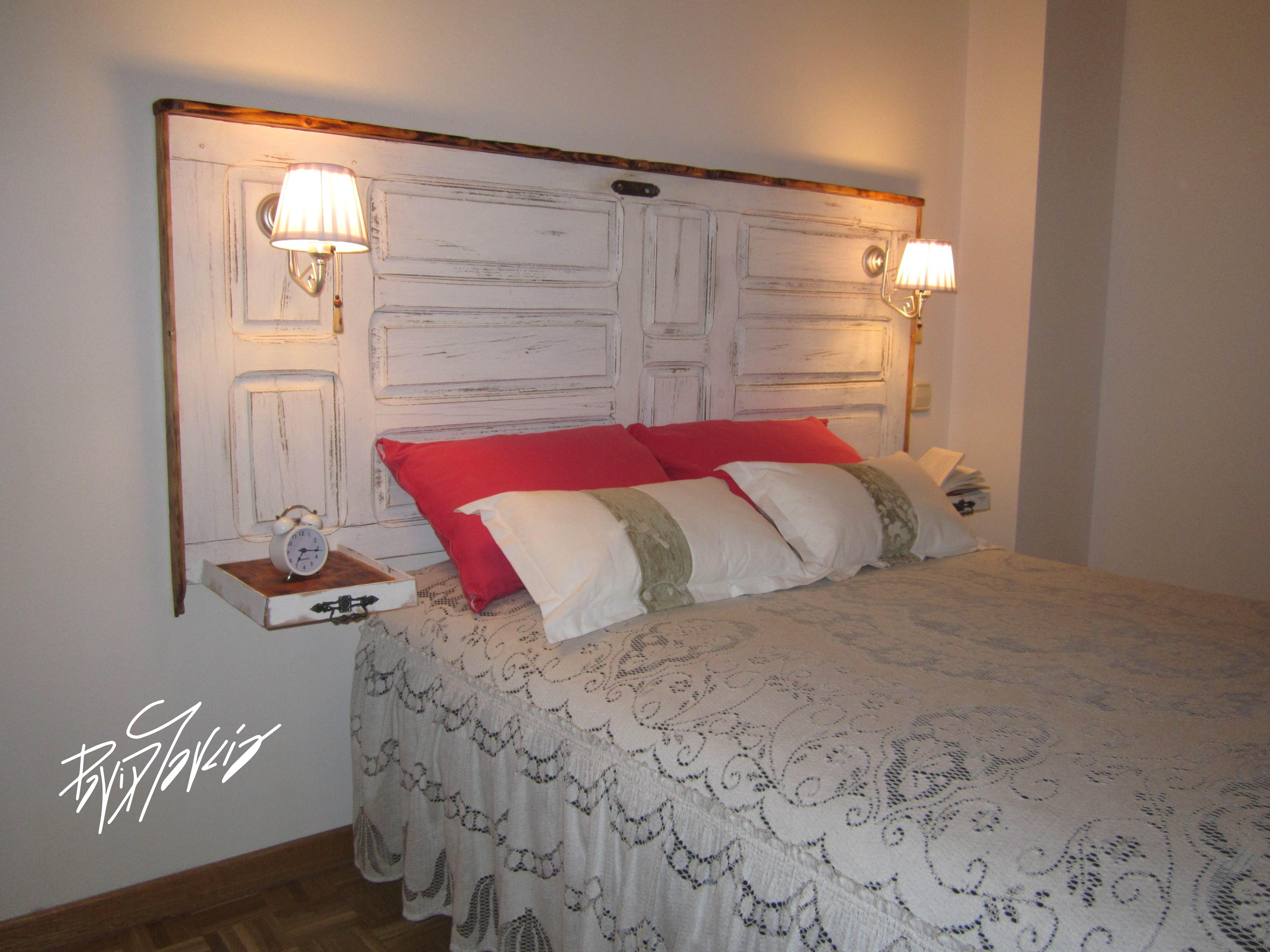Decoraci n rustica rom ntica y fresca - Modelos de cabeceros de cama ...